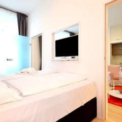 Апартаменты Vienna Residence Lovely Apartment With Space for 2 Close to the Subway Вена комната для гостей фото 5