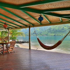 Отель Robinson's Cove Villas - Deluxe Wallis Villa Французская Полинезия, Муреа - отзывы, цены и фото номеров - забронировать отель Robinson's Cove Villas - Deluxe Wallis Villa онлайн бассейн фото 2