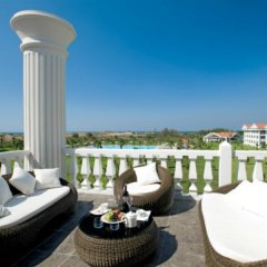 Отель The Kumul Deluxe Resort & Spa Сиде балкон