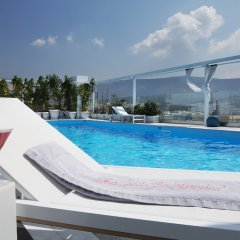 St George Lycabettus Hotel бассейн