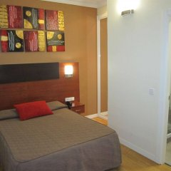 Отель Hostal Abadia комната для гостей
