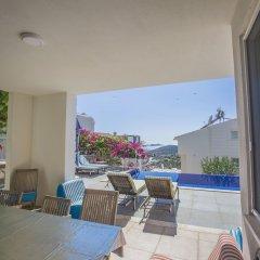 Villa Berengul by Akdenizvillam Турция, Калкан - отзывы, цены и фото номеров - забронировать отель Villa Berengul by Akdenizvillam онлайн балкон