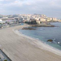 Hotel Riazor пляж фото 2