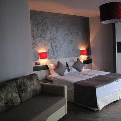 Отель Gran Via Болгария, Бургас - 5 отзывов об отеле, цены и фото номеров - забронировать отель Gran Via онлайн комната для гостей фото 4