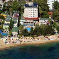 Incekum Su Hotel Турция, Аланья - отзывы, цены и фото номеров - забронировать отель Incekum Su Hotel - All Inclusive онлайн пляж