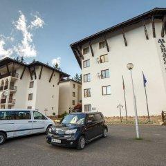Отель Monastery 2 Aparthotel Пампорово парковка