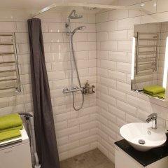 Отель Garden House and Rooms Швеция, Лунд - отзывы, цены и фото номеров - забронировать отель Garden House and Rooms онлайн ванная фото 2