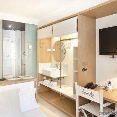Отель Denit Barcelona Испания, Барселона - 9 отзывов об отеле, цены и фото номеров - забронировать отель Denit Barcelona онлайн ванная фото 2