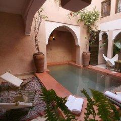 Отель Riad Assala Марокко, Марракеш - отзывы, цены и фото номеров - забронировать отель Riad Assala онлайн бассейн
