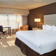 Отель Hilton Los Angeles Airport США, Лос-Анджелес - 10 отзывов об отеле, цены и фото номеров - забронировать отель Hilton Los Angeles Airport онлайн комната для гостей фото 4