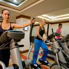 Отель Crystal Kemer Deluxe Resort And Spa Кемер фитнесс-зал фото 4