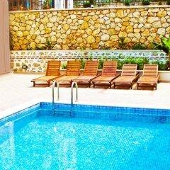 Villa Amber Турция, Калкан - отзывы, цены и фото номеров - забронировать отель Villa Amber онлайн бассейн