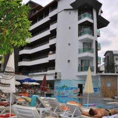 Acar Hotel пляж фото 2