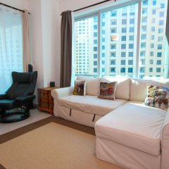 Отель Marina Promenade – Delphine Tower/Dubai Marina 1BR Luxury Apt Sea View Sleeps 3 - HLS 37921 комната для гостей фото 4