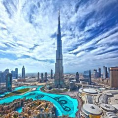 Dubai Youth Hotel балкон