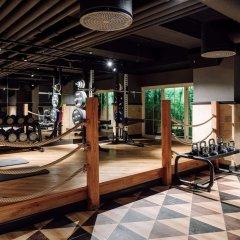 Отель Amerikalinjen фитнесс-зал фото 2