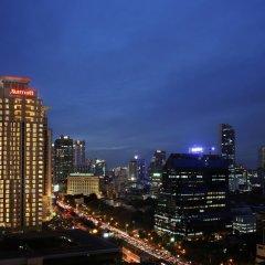 Отель Sathorn Vista, Bangkok - Marriott Executive Apartments Таиланд, Бангкок - отзывы, цены и фото номеров - забронировать отель Sathorn Vista, Bangkok - Marriott Executive Apartments онлайн балкон