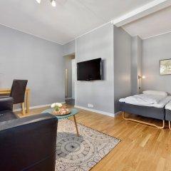 Апартаменты Forenom Serviced Apartments Oslo Rosenborg комната для гостей