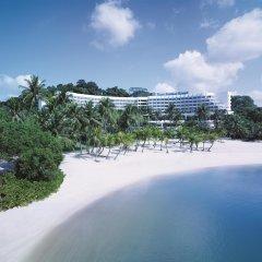 Отель Shangri-Las Rasa Sentosa Resort & Spa пляж