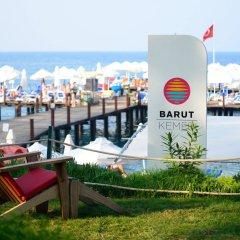 Kemer Barut Collection Турция, Кемер - 11 отзывов об отеле, цены и фото номеров - забронировать отель Kemer Barut Collection - All Inclusive онлайн пляж фото 2