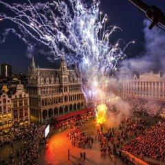 Отель Capital Бельгия, Брюссель - отзывы, цены и фото номеров - забронировать отель Capital онлайн балкон