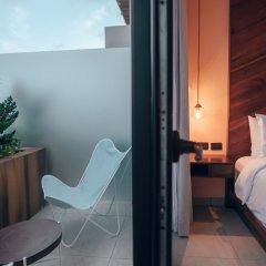 Отель Calixta Hotel Мексика, Плая-дель-Кармен - отзывы, цены и фото номеров - забронировать отель Calixta Hotel онлайн балкон