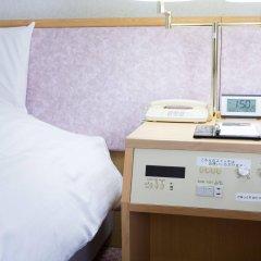 Toyama Chitetsu Hotel Тояма сейф в номере