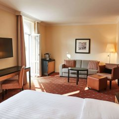 Отель Steigenberger Grandhotel Belvedere Швейцария, Давос - 1 отзыв об отеле, цены и фото номеров - забронировать отель Steigenberger Grandhotel Belvedere онлайн удобства в номере фото 2