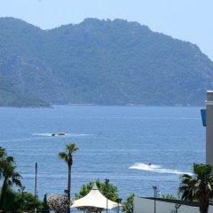 Elysium Otel Marmaris Турция, Мармарис - отзывы, цены и фото номеров - забронировать отель Elysium Otel Marmaris онлайн пляж