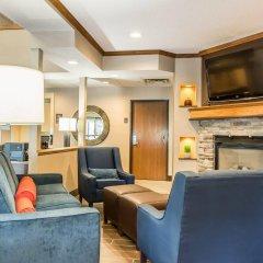 Отель Comfort Inn North/Polaris США, Колумбус - отзывы, цены и фото номеров - забронировать отель Comfort Inn North/Polaris онлайн интерьер отеля фото 3