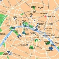 Hotel Mademoiselle Париж городской автобус