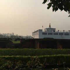 Отель Aakash International Непал, Лумбини - отзывы, цены и фото номеров - забронировать отель Aakash International онлайн приотельная территория