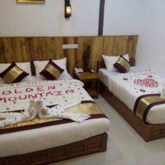 Отель Golden Mountain Hotel Мьянма, Хехо - отзывы, цены и фото номеров - забронировать отель Golden Mountain Hotel онлайн комната для гостей фото 2