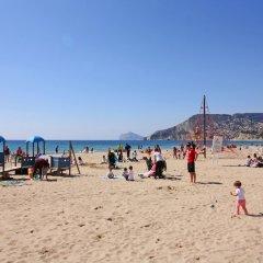 Отель Apartamentos Apolo VII - Costa Calpe пляж