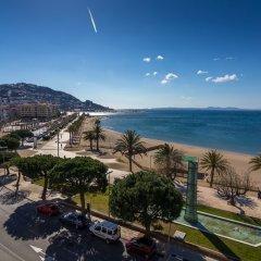 Отель Agi Panama Испания, Курорт Росес - отзывы, цены и фото номеров - забронировать отель Agi Panama онлайн пляж