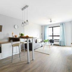 Апартаменты Comfortable Apartment in Warsaw комната для гостей фото 4