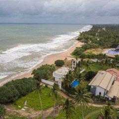 Отель Saffron & Blue - an elite haven Шри-Ланка, Косгода - отзывы, цены и фото номеров - забронировать отель Saffron & Blue - an elite haven онлайн пляж фото 2