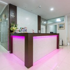 Отель The Step Sathon Бангкок интерьер отеля