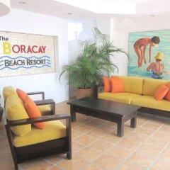 Отель The Boracay Beach Resort Филиппины, остров Боракай - 1 отзыв об отеле, цены и фото номеров - забронировать отель The Boracay Beach Resort онлайн интерьер отеля