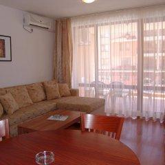 Отель Aparthotel Efir 2 Болгария, Солнечный берег - отзывы, цены и фото номеров - забронировать отель Aparthotel Efir 2 онлайн комната для гостей
