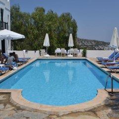 Отель Panorama Otel бассейн
