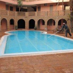 Отель Ouarzazate Le Tichka Марокко, Уарзазат - отзывы, цены и фото номеров - забронировать отель Ouarzazate Le Tichka онлайн бассейн