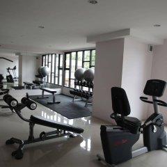 Апартаменты Pintree Service Apartment Pattaya Паттайя фитнесс-зал фото 4