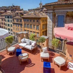 Отель Albergo Cesàri Италия, Рим - 2 отзыва об отеле, цены и фото номеров - забронировать отель Albergo Cesàri онлайн балкон