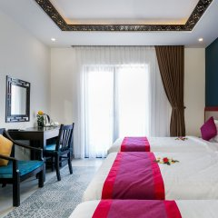 Отель Hoi An Golden Holiday Villa комната для гостей фото 3