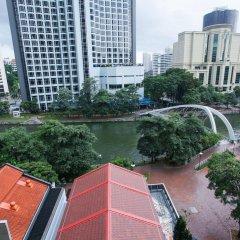 Отель M Social Singapore Сингапур, Сингапур - 2 отзыва об отеле, цены и фото номеров - забронировать отель M Social Singapore онлайн балкон