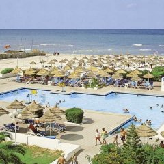 Отель Club Calimera Yati Beach Тунис, Мидун - отзывы, цены и фото номеров - забронировать отель Club Calimera Yati Beach онлайн пляж