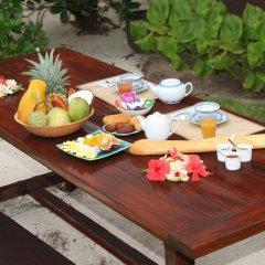 Отель Fare Vaihere Французская Полинезия, Муреа - отзывы, цены и фото номеров - забронировать отель Fare Vaihere онлайн питание фото 2