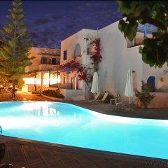 Отель Hippocampus Hotel Греция, Остров Санторини - отзывы, цены и фото номеров - забронировать отель Hippocampus Hotel онлайн бассейн