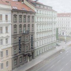 Отель Avenue Legerova 19 Чехия, Прага - отзывы, цены и фото номеров - забронировать отель Avenue Legerova 19 онлайн вид на фасад